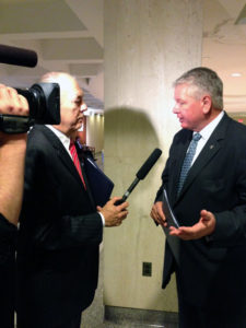 FPC Chair Bill Johnson is interviewed after Governor Scott's 2013 State of the State Address